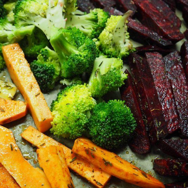 Who else loves roasted veggies like me? Kdo ma takyhellip